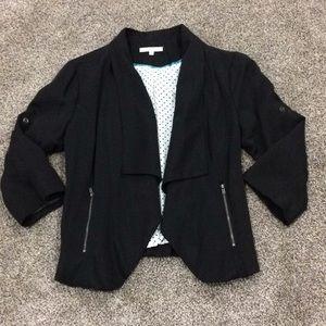Jackets & Blazers - Black casual blazer